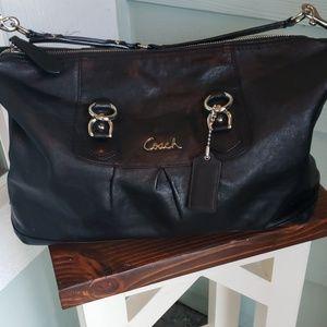 Coach leather purse handbag